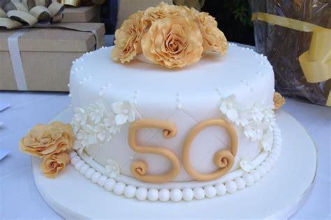 golden wedding anniversary cake goldene hochzeit