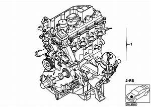 Original Parts For E39 520d M47 Sedan    Engine   Short