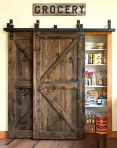 Hobby Lobby Cabinets by Barn Doors Ways To Use A Barn Door