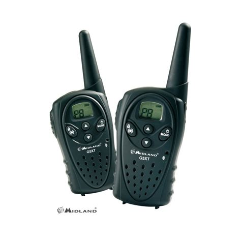 talkie walkie professionnel longue portee talkie walkie midland g5 xt achat de talkie walkies montagne
