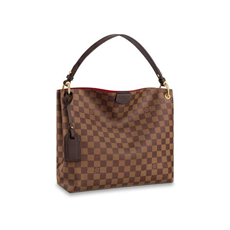 graceful pm damier ebene handbags louis vuitton