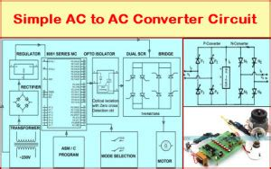 Converter Circuit Its Working