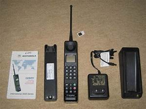 MOTOROLA 3200 International GSM Collectors Vintage BRICK ...