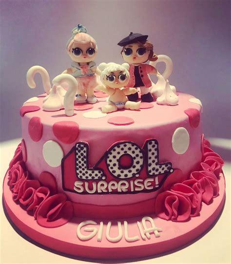 lol surprise cake torta lol surprise torte  lol