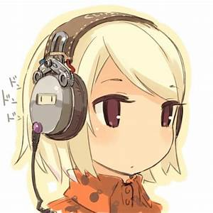 Anime images Chibi girl with headphones HD wallpaper and ...