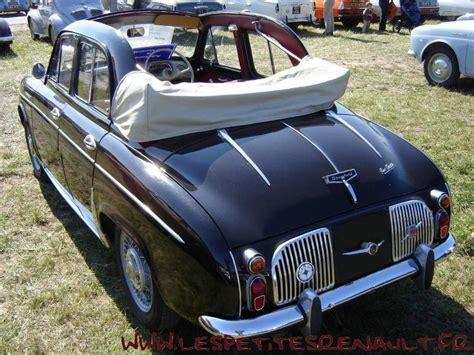 Les Petites Renault - Dauphine decouvrable Chapron 1957