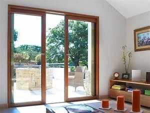 Baie à Galandage : baie vitr e bois galandage porte ext rieure bois ~ Melissatoandfro.com Idées de Décoration