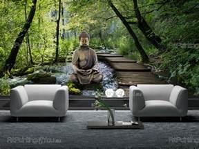 zen sprüche fototapete zen spa poster leinwandbilder buddha statue 1407de