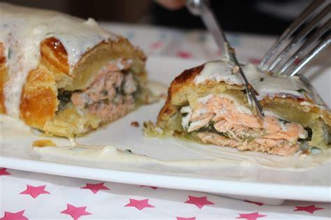 saumon en croute sauce oseille les petits plats de mimimarie