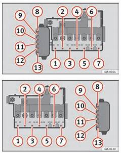 Seat Toledo  2012   U2013 Fuse Box Diagram