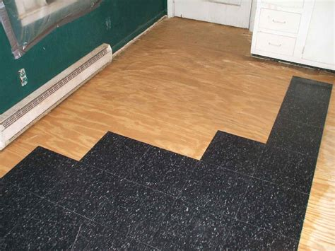 install commercial grade resilient tile