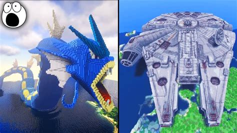 top   amazing minecraft creations builds  youtube