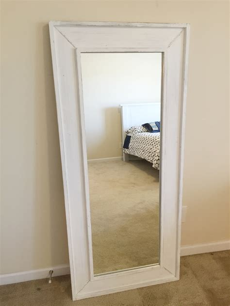 ana white full length mirror diy projects