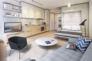 Einrichtung Kleine Wohnung : kleine wohnung einrichten ideen zur flexiblen ~ Watch28wear.com Haus und Dekorationen