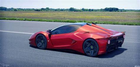 Ferrari Verus Hybrid Supercar Concept