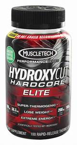 Buy Muscletech Products - Hydroxycut Hardcore Elite Performance Series