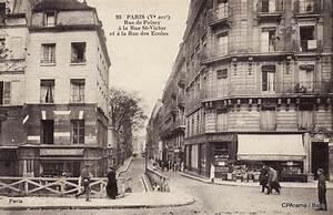 Peinture De Paris Poissy : paris rue de poissy paris ve arr cartes postales ~ Premium-room.com Idées de Décoration