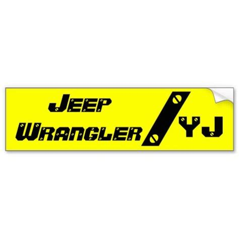 jeep bumper stickers 1000 images about yj on pinterest suv for sale forum