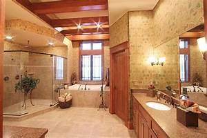 Custom Master Baths by drawn by Studer Residential Designs ...