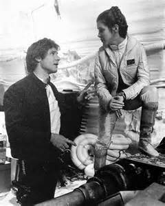 Star Wars and Harrison Ford Carrie Fisher