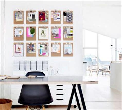afficher le bureau 10 idées déco pour afficher ses photos avec originalité