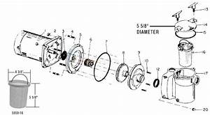 Century Pool Pump Parts Diagram