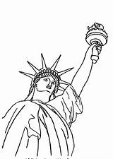 Statue Liberty Coloring Awesome Pages Colornimbus Printable Cartoon sketch template
