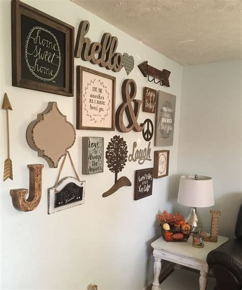 wall and decor 17 best ideas about rustic gallery wall on pinterest family wall country wall decor and