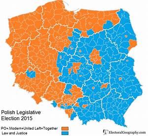 Poland. Legislative Election 2015 | Electoral Geography 2.0