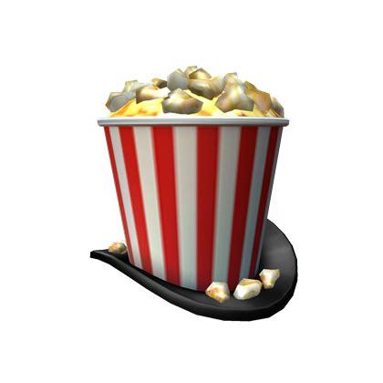 showtime bloxy popcorn hat roblox wikia fandom powered  wikia