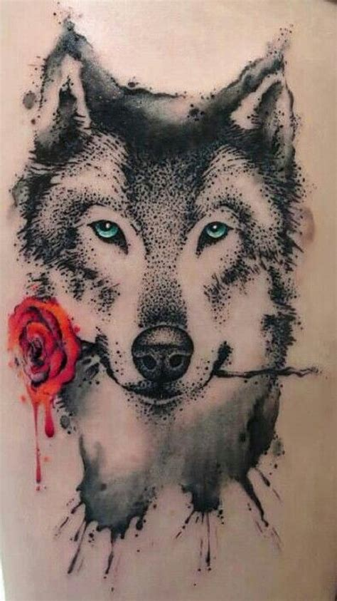 tatuaje de lobo significado  simbolismo