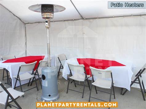 outdoor patio heater rentals with propane tank balloon