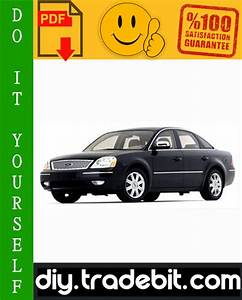 Ford Five Hundred 500 Service Repair Manual 2005