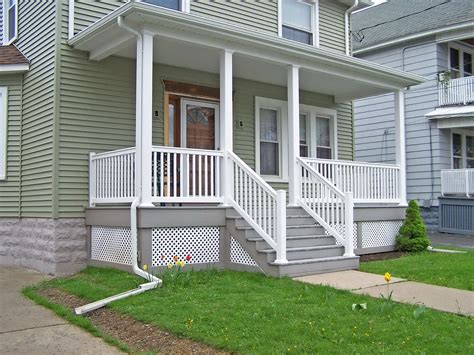 vinyl porch railing porch railings and posts