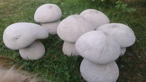 Pilze Für Garten Basteln by Die 25 Besten Basteln Mit Beton Ideen Auf