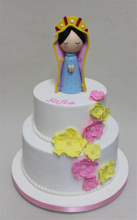 Communion Cake Cakes Tortas de comunion nena