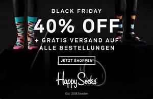 Wann Ist Der Black Friday 2018 : trendige socken von happysocks um 40 reduziert black ~ Orissabook.com Haus und Dekorationen