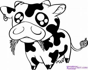 baby cow coloring pages - how to draw a baby cow step by step anime animals anime