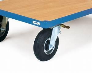 Roue Pivotante : fetra roue gonflable pivotante avec frein 220mm pour planche 71515 ~ Gottalentnigeria.com Avis de Voitures