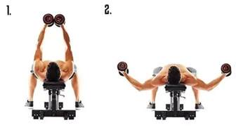 pec deck dumbbell what is the correct form of dumbbell fly working out