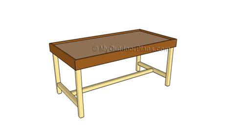 train table plans myoutdoorplans  woodworking