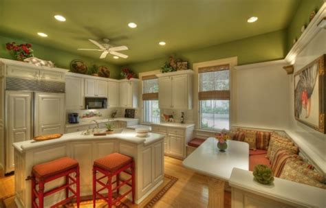 apple green kitchen tiles kitchen paint colors 10 handsome hues to consider 4162