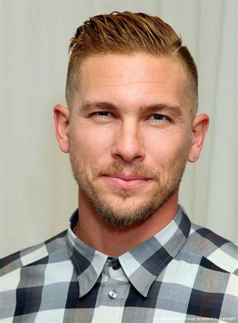 mens hair short sides long top mens hairstyles 2018