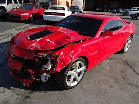 chevrolet camaro ss coupe salvage wrecked  sale