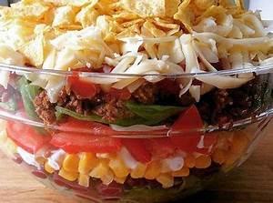 Leichte Salate Rezepte : mexikanischer schichtsalat rezept rezepte pinterest salat vorspeisen salat und salat ~ Frokenaadalensverden.com Haus und Dekorationen