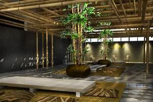 Bamboo interior design ideas beautiful homes design for Bamboo interior design ideas