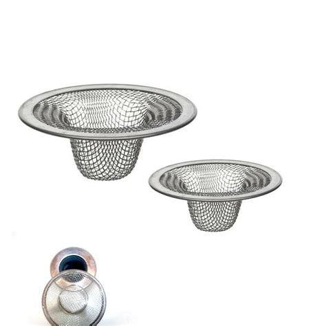 pc stainless steel mesh sink strainer drain stopper trap