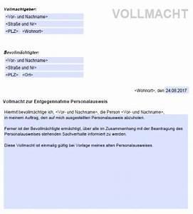 Personalausweis Kind Beantragen Einverständniserklärung : vollmacht abholung personalausweis kostenlose ~ Themetempest.com Abrechnung