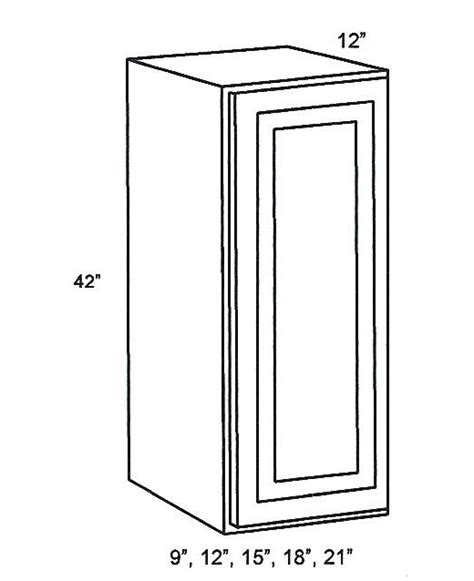 Rta Inset Cabinets by W1842 Wall Cabinets Single Door Wall Cabinet Signature