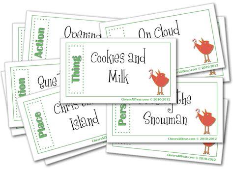 christmas charades christmas games for kids and family